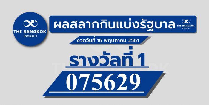 ตรวจหวย งวด 1 ธันวาคม 2560 ล่าสุด: ตรวจสลากกินแบ่งรัฐบาล ได้ที่นี่