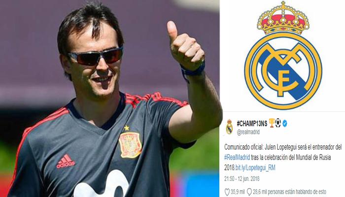 เซอร์ไพรส์!เรอัล มาดริดตั้งโค้ชทีมชาติสเปนคุมทีมหลังบอลโลก