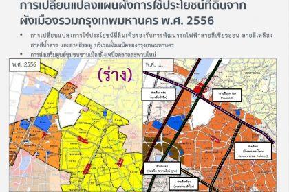 รูปข่าว ผ่าผังเมืองใหม่เพิ่มพื้นที่ใช้ประโยชน์-โบนัสที่ดินรอบรถไฟฟ้า