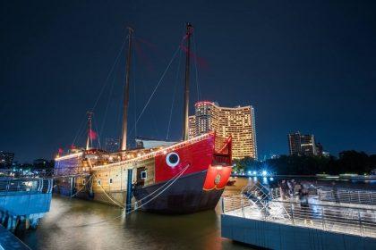 รูปข่าว เปิดพิพิธภัณฑ์ลอยน้ำ 'เรือสำเภาศรีมหาสมุทร' ริมเจ้าพระยา