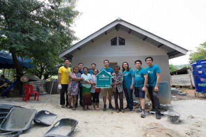 รูปข่าว อนันดาฯ มอบบ้านพักอาศัยแก่ผู้ด้อยโอกาส