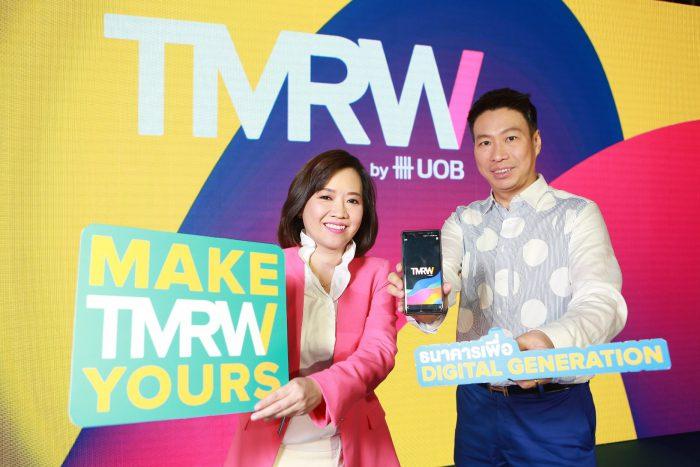 Mr Yuttachai Teyarachakul and Ms Nantawan Suri UOB Thai