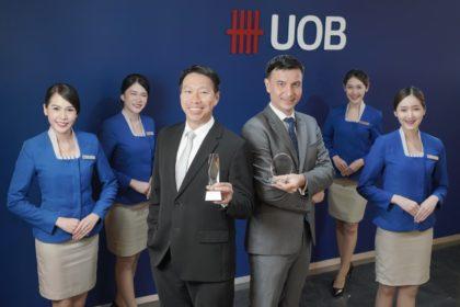 รูปข่าว ยูโอบี คว้ารางวัลชนะเลิศ 'The Best Retail Bank'