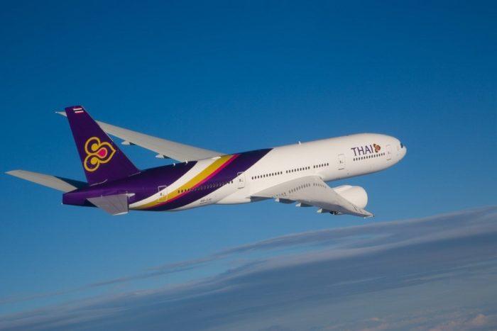 B777 200ER การบินไทย