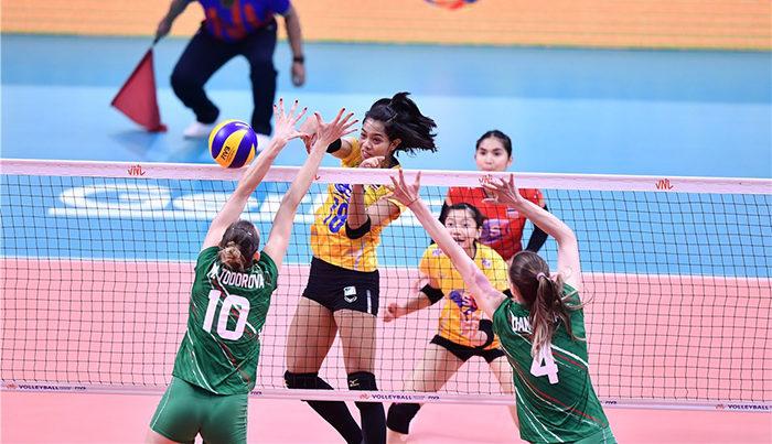 เปิดหัวสวย! สาวไทยตบแซงชนะบัลแกเรีย 3-1 วอลเลย์เนชั่นส์ลีก สนาม3