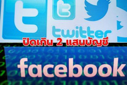 รูปข่าว 'ทวิตเตอร์-เฟซบุ๊ก' ปิดบัญชีโจมตีประท้วงฮ่องกง