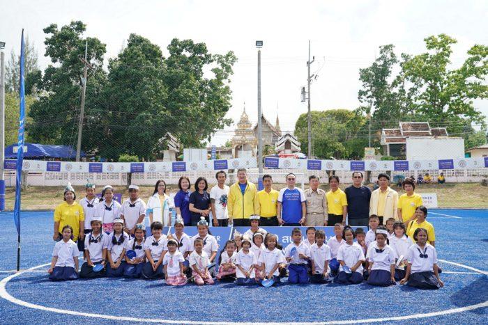 โครงการ 100 สนามฟุตบอล สร้างพลังเยาวชนไทย1