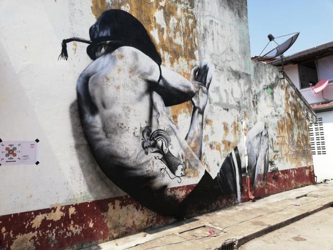 Art Creation @ Sukhothai by Ceno2 Wall I III