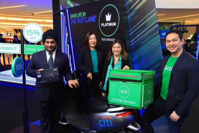 001 ซิตี้และแกร็บผนึกกำลัง เปิดตัวบัตรเครดิตซิตี้ แกร็บ ในประเทศไทย