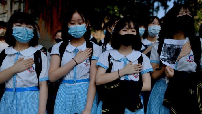 ฮ่องกงเตรียมรับมือชุมนุมรอบใหม่ นักเรียนประท้วงเหตุเพื่อนโดนยิง - The Bangkok Insight