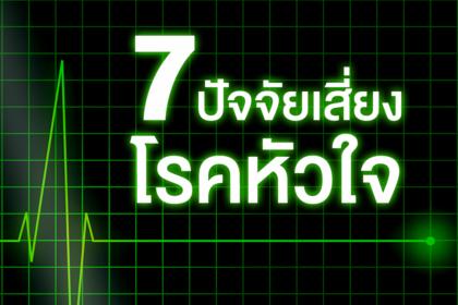 รูปข่าว 7 ปัจจัยเสี่ยงโรคหัวใจ!!