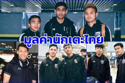 รูปข่าว 'ชนาธิป' แพงสุด! เผย 10 นักเตะไทยที่มีมูลค่าสูงสุด