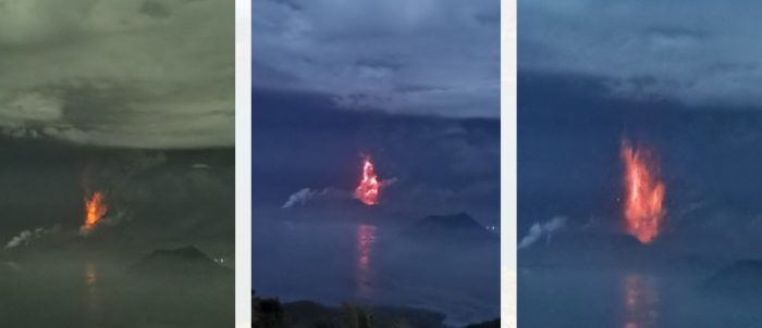 20200113 taal volcano lava