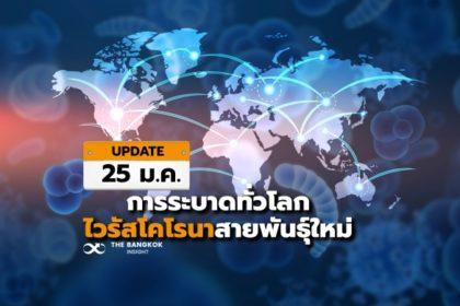 รูปข่าว หยุดไม่อยู่ 'ไวรัสโคโรนาสายพันธุ์ใหม่' คนติดเชื้อใน-นอกจีน พุ่งต่อเนื่อง