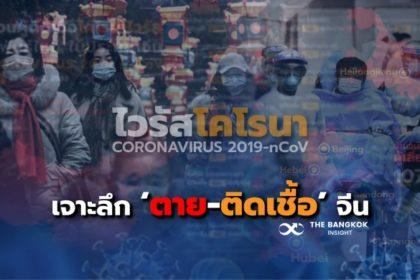 รูปข่าว สถานการณ์ไวรัสโคโรนา! เปิดข้อมูล 'ตาย-ติดเชื้อ' รายมณฑลในจีน