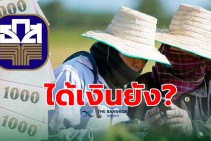 รูปข่าว เช็คสิทธิ์เงินเยียวยาเกษตรกรที่นี่ 'ธ.ก.ส.' โอนไวจ่ายเงินแล้ว 4.2 ล้านราย