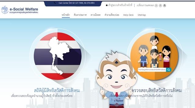 e-Social Welfare' บัตรสวัสดิการแห่งรัฐ