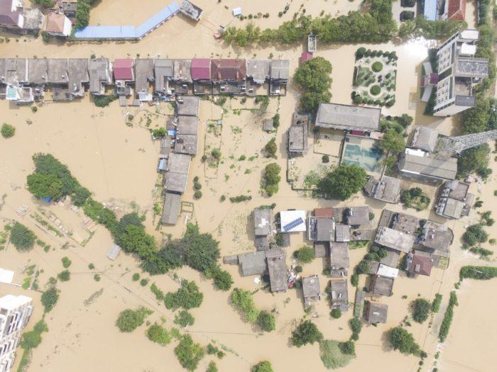 น้ำท่วมประเทศจีน