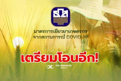 รูปข่าว เยียวยาเกษตรกรตรวจสอบสถานะด่วน!! 'ธ.ก.ส.' จ่อโอนเงินเพิ่ม 8 ก.ค.นี้