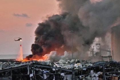 รูปข่าว เปิดวินาที 'ระเบิดยักษ์' ถล่มเบรุต ดับอย่างน้อย 78 ศพ