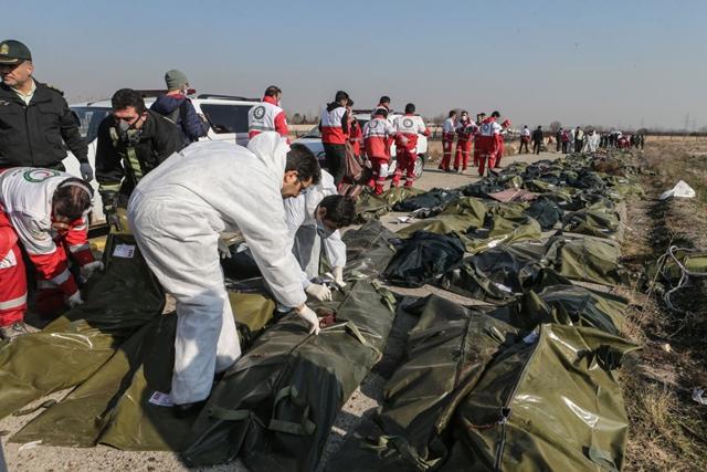 อิหร่าน ตุรกี เครื่องบินตก 2563