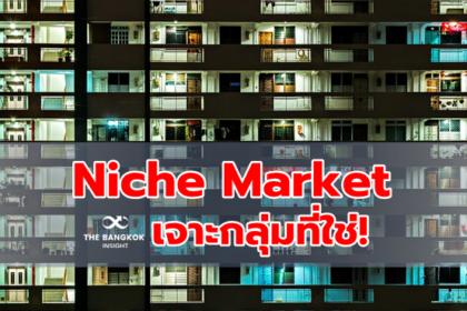 รูปข่าว 'Niche Market' เจาะกลุ่มที่ใช่ ด้วยความเข้าใจและเชี่ยวชาญ