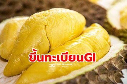 รูปข่าว 'พาณิชย์' ตีทะเบียนสินค้า GI ใหม่ 2 รายการ 'กล้วยตากสังคม-ทุเรียนชะนีเกาะช้าง'