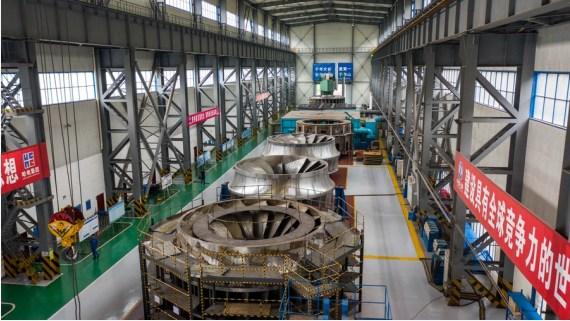 ชไป๋เฮ่อทาน โรงไฟฟ้าพลังน้ำ จีน