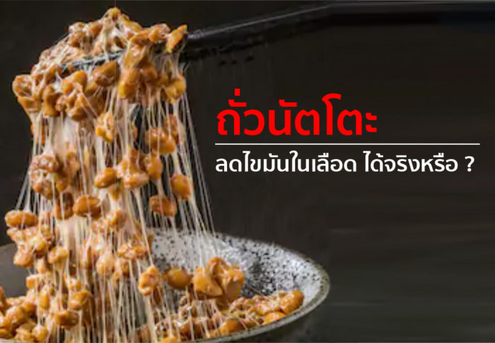 bangkokถั่วนัตโตะ ลดไขมันในเลือด ได้จริงหรือ 01