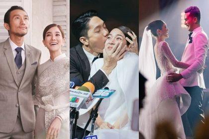 รูปข่าว ย้อนชมภาพความหวานงานวิวาห์ เดือนนี้มีดาราคนดังคู่ไหนแต่งไปแล้วบ้าง?