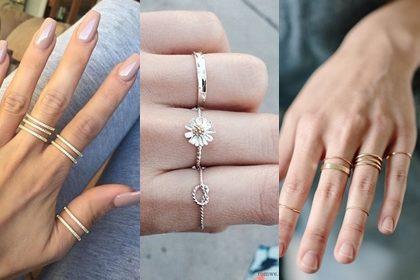 รูปข่าว รวม 20 ไอเดีย มิกซ์แอนด์แมทช์การใส่แหวนให้ดูเก๋ ดูชิค ไม่เหมือนใคร!