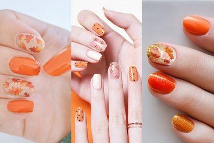 รูปข่าว รวม 10 ไอเดียทาเล็บโทนสีส้มสดใส จะหวานก็ได้ จะแซ่บก็รอด!