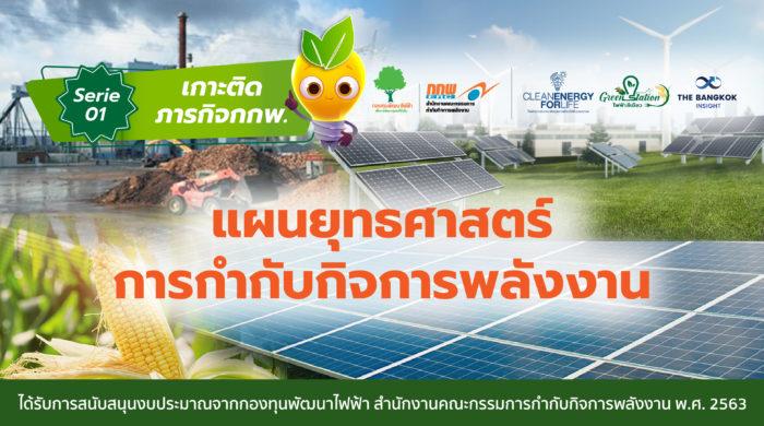 แผนยุทธศาสตร์การกำกับกิจการพลังงาน