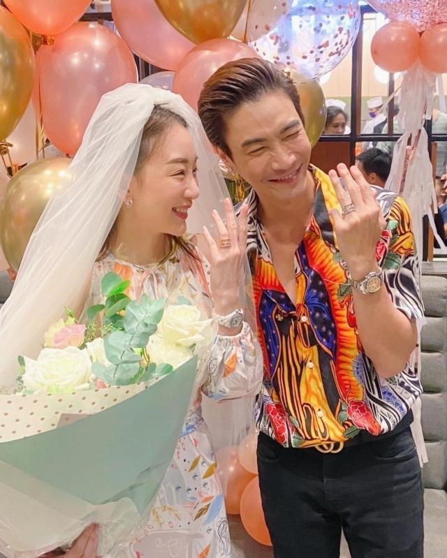 บรรยากาศงานแต่ง มาวิน-ตู่ ปิยวดี กับรัก10ปี สุดชื่นมื่นและอบอุ่น