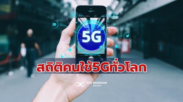 ผู้ใช้มือถือ 5G ทั่วโลก