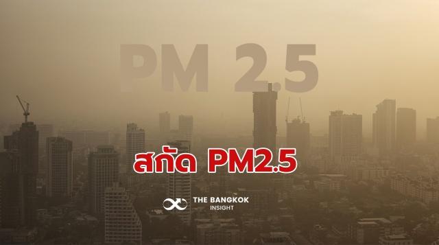 สกัด PM2.5