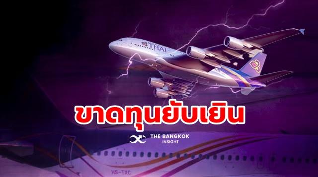 การบินไทย ขาดทุน ผลประกอบการ 2563