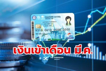 รูปข่าว ตาราง 'บัตรคนจน บัตรสวัสดิการแห่งรัฐ' มีนาคม 2564 จัดหนัก 11 รายการ 7 วัน