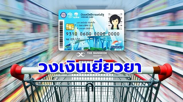 เยียวยาโควิด-19 บัตรคนจน บัตรสวัสดิการแห่งรัฐ