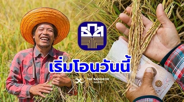 2564 เงินช่วยเหลือเกษตรกร ชาวนา