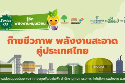 """รูปข่าว """"ก๊าซชีวภาพ (Biogas)"""" พลังงานสะอาดคู่ประเทศไทย"""