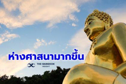 รูปข่าว โพลชี้ คนไทยยึด 'กตัญญู' น้อยลง ห่างไกล 'ศาสนา' มากขึ้น