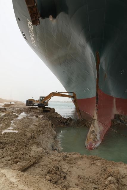 เรือ Ever Given เกยตื้น คลองสุเอซ 2