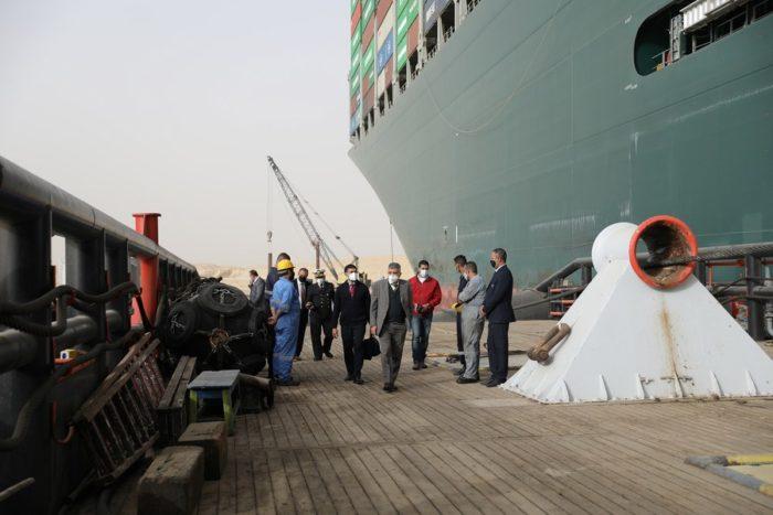 เรือสินค้า คลองสุเอซ