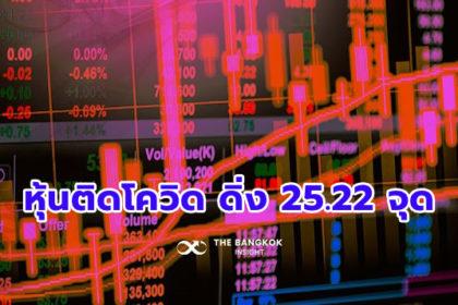 รูปข่าว หุ้นปิดร่วง 25.22 จุด สถาบัน-ต่างชาติเทขาย กังวลโควิดลามหนักช่วงสงกรานต์