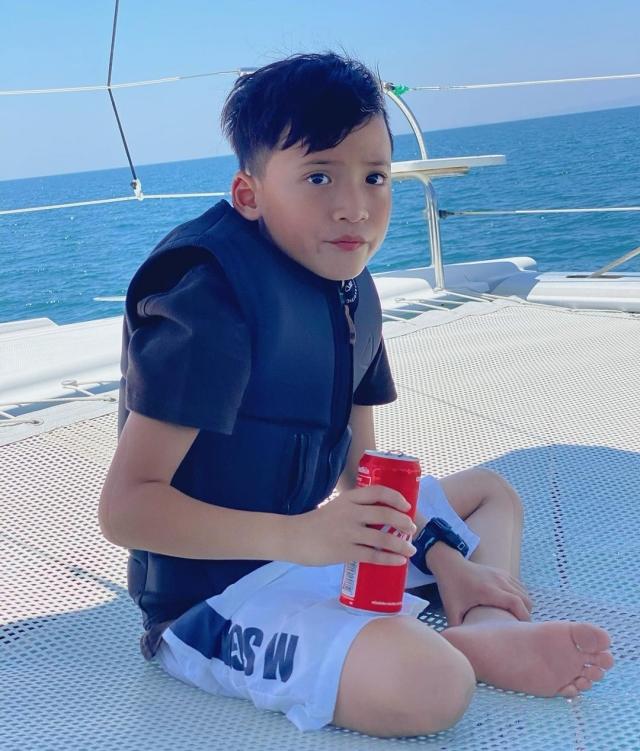 13 น้องบรู๊คลิน ลูกชาย เวย์ นานา 13
