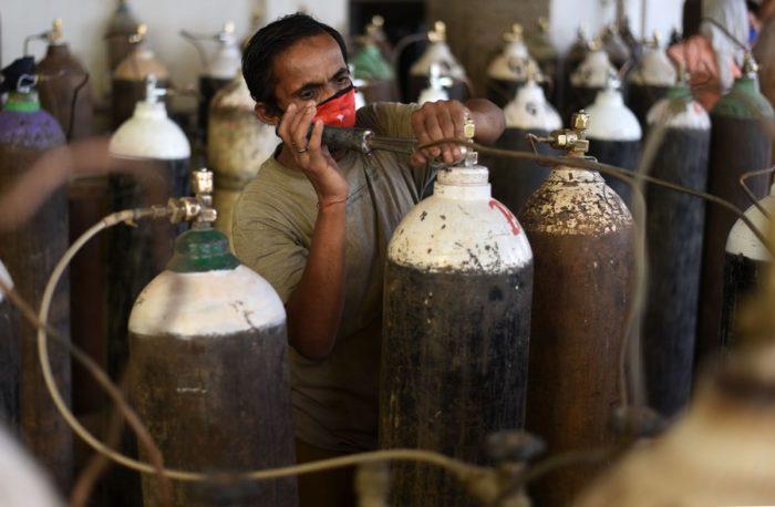 Asia Album Indias oxygen crisis amid COVID 19 surge