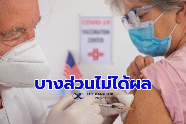 วัคซีนโควิด ภูมิคุ้มกันอ่อนแอ
