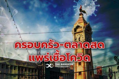 รูปข่าว นนทบุรีสาหัส! 'ในครอบครัว – ตลาดสด' แหล่งแพร่เชื้อ วันนี้ติดโควิดพุ่ง 165 ราย!