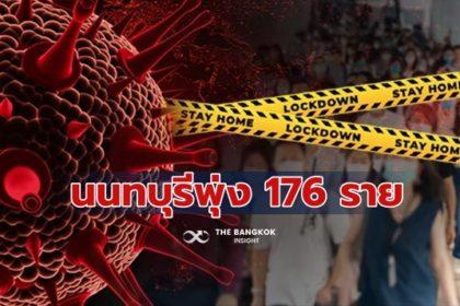 รูปข่าว พุ่งพรวด 176 ราย โควิด 'นนทบุรี' เช็คพื้นที่เสี่ยงด่วน จ่อปิดเทศบาลนครนนทบุรี 3 วัน